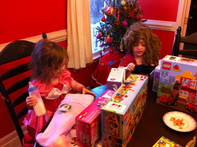 St. Nick came to our house! Yay!