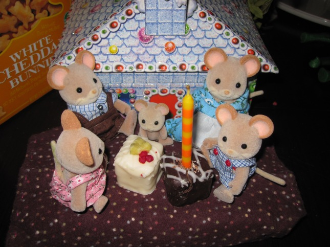 The mousy Christmas party, 2010.