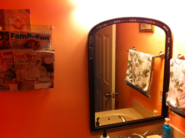 What? The Room of Requirement is a perfect place for this special mirror.