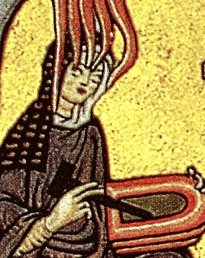 Hildegard of Bingen's painting from her Scivias. Mysticism also has its own symbols, and it's a nonfiction parallel to genre fiction.