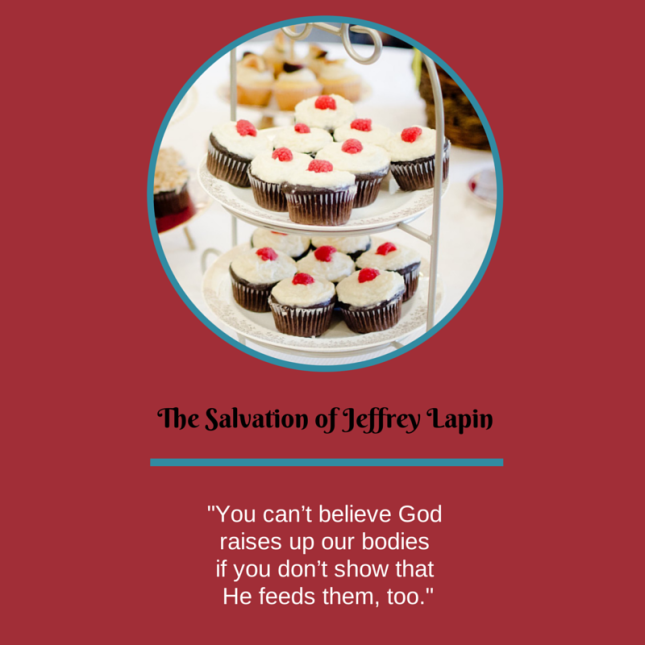 From the coming soon! Christian paranormal novel, The Salvation of Jeffrey Lapin by Summer Kinard.