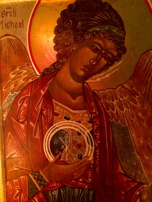 Archangel Michael icon.