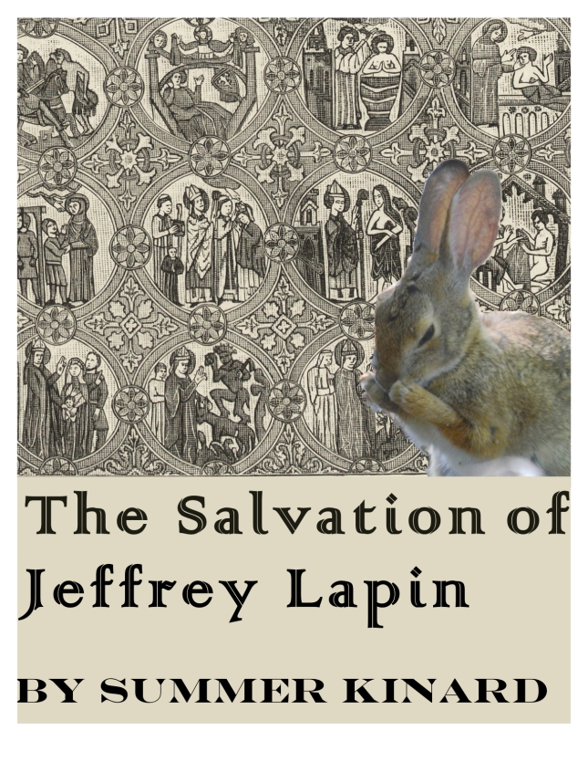 Is this a history book? What's going on with the rabbit?
