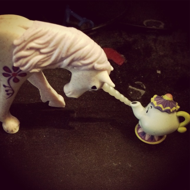 Of course tea pots are unicorns. Think about it. See?
