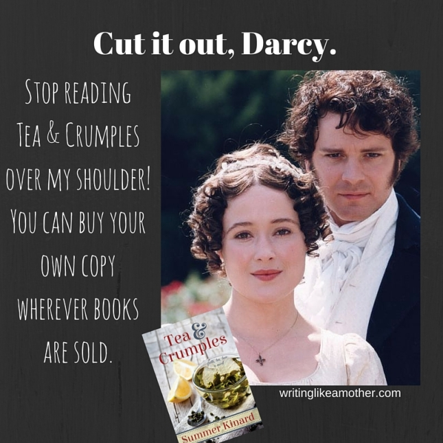 cut it out darcy