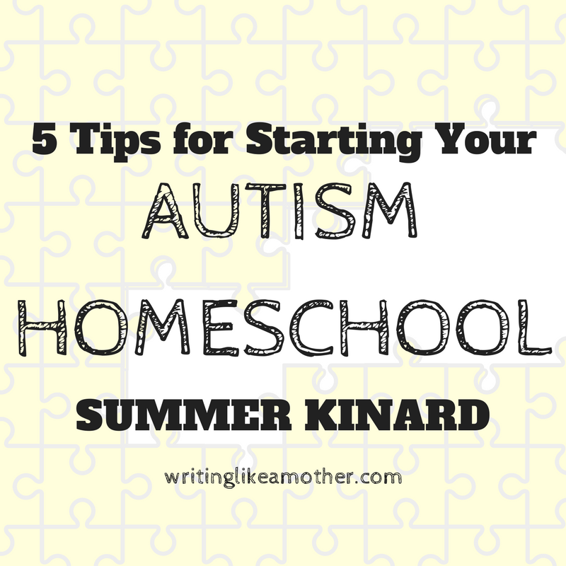 The 5 Differences of Autism Homeschools