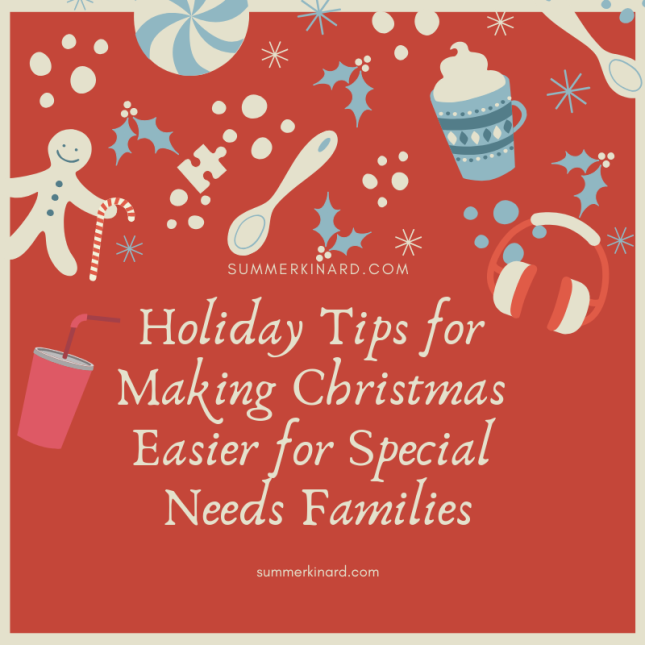 Holiday Tips for Making Christmas Easier for Special Needs Families